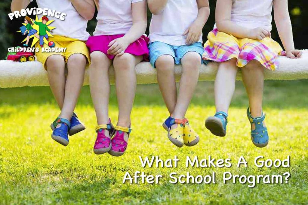 Good After School Program