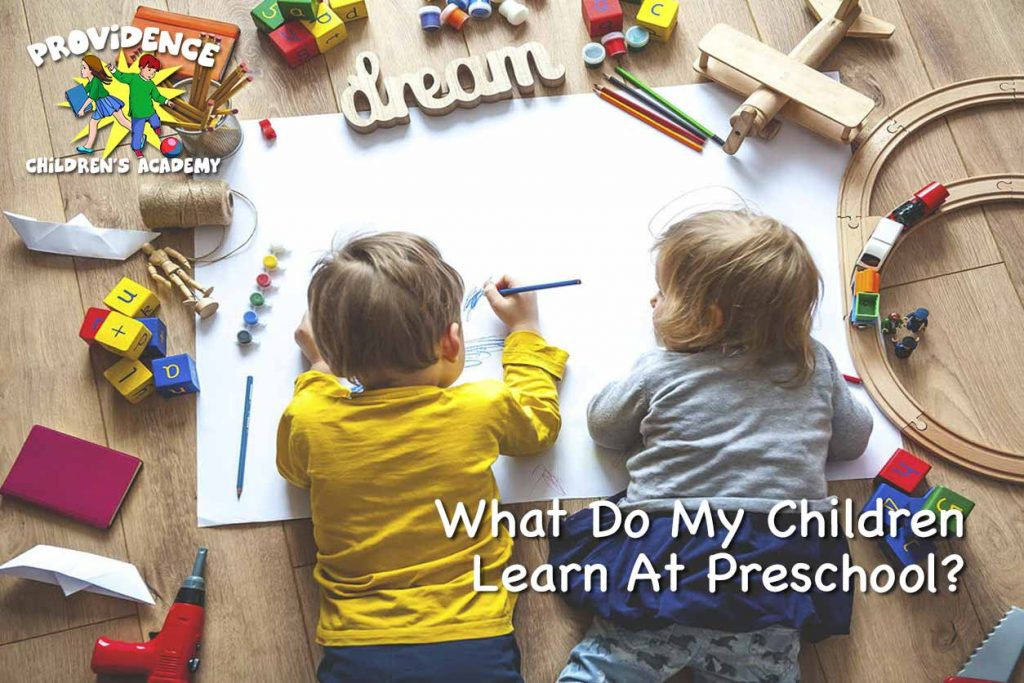 Children Learn At Preschool