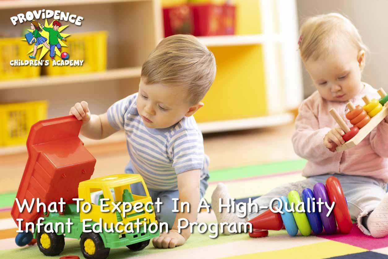 Infant Education Program
